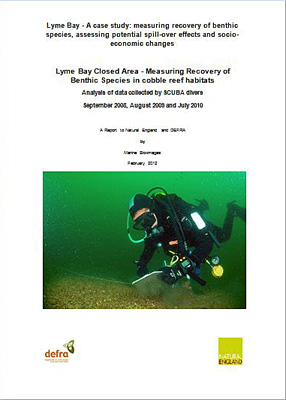 Lyme Bay Monitoring Study: Lyme Bay Closed Area - Measuring Recovery of Benthic Species in cobble reef habitats. marine Bio-images